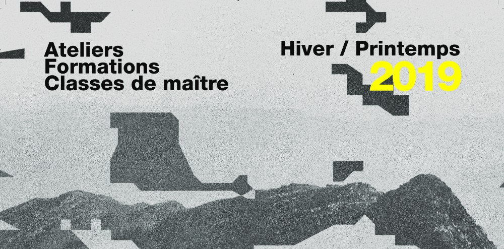 Formations Hiver/printemps 2019